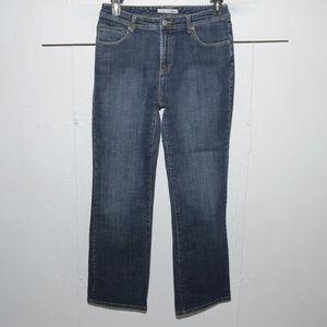Chico's quartz womens jeans size 1.5 R 1649